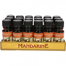 wholesale Room Sprays & Scented Oils: Fragrance Oil Mandarin 10ml in glass bottle