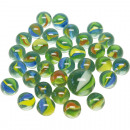 wholesale Toys: Marbles of glass pearlescent optic 50 + 1 in the n