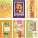 nagyker Üdvözlőkártyák: Térkép közösségben 11,5x17cm + boríték 6-szeres be