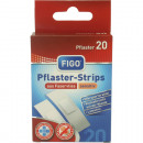 Wundverband Strips 20er sensitiv latexfrei