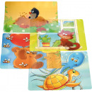 Placemat barn vinyl 4- times assorted 43.5x28.3cm