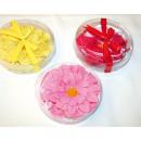 Płatki mydlane w kształcie kwiatu 10,5x2,8cm XL