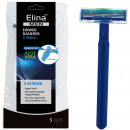 wholesale Drugstore & Beauty: Razor One way 5er Elina Man 2-blade blade