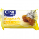 Elina Soap Milk & Honey 80g piece in foil