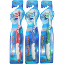 wholesale Dental Care: Toothbrush Elina Multikopf 1er with tongue cleaner