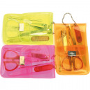 Nail manicure set 5 pieces in a case
