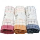 Großhandel Haushalt & Küche: Geschirrtuch 45x70cm 1er farbig sortiert 50g 100%B