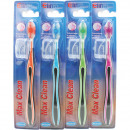 Toothbrush Elina 4 colors assorted