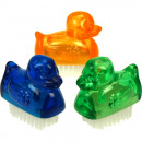 wholesale Drugstore & Beauty: Handwash Brush Mini Duck 5.5cm 3 colors assorted