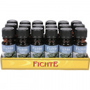 Fragrance oil spruce 10ml in glass bottle