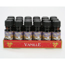 Perfume oil 10ml vanilla in glass bottle