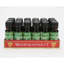 Fragrance oil 10ml Christmas fragrance in glass bo