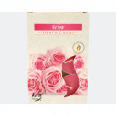 Tealight fragrance 6er rose in folding box