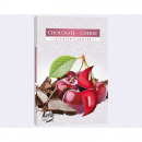 wholesale Home & Living: Tealight 6er chocolate cherry