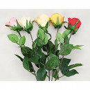wholesale Artificial Flowers: Rose closed flower, 68cm extra long