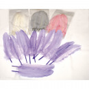 Real feathers set of 10! Long version