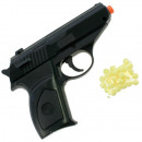 Pistol with magazine + 15 balls 12x9cm in polybag