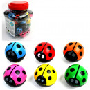 Jumping Balls 3,6cm Ladybug 4- times assorted in D