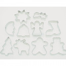wholesale Casserole Dishes and Baking Molds: Cookie cutter made of tinplate about 8x7cm, single