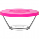 Glass bowl with lid 215ml