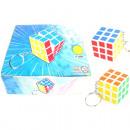 Kulcstartó kocka 3,5x3,5x3,5cm