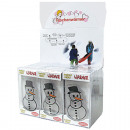 wholesale Wellness & Massage: Pocket warmer snowman, 13 x 8cm