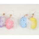 Easter egg with spring set of 2, as a hanger