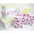 Gift or storage box, 2 times assorted