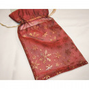 wholesale Gifts & Stationery: Organza gift bag XL 33x 16,5cm, red