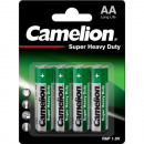 battery Camelion Mignon 4-pack 1.5V on card