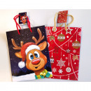 Gift bag 'Eddy the Moose' 23x18cm