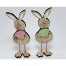 ingrosso Home & Living: Simpatico coniglietto di legno con uovo ...