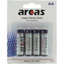 wholesale Batteries & Accumulators: battery Arcas Mignon 4-pack 1.5Volt on card