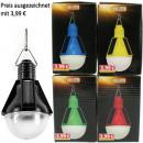 wholesale Garden & DIY store: LED solar decorative light bulb shape ...