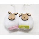wholesale Scarves & Shawls: Cuddly sheep to hang 6x6x13cm