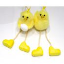 Csirke tojással és hosszú lábakkal 15x5cm