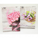 wholesale Bags & Travel accessories: Gift bag small 16x11.5x6cm roses / tulips