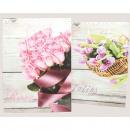 Gift bag XL 34.5x25x8.5cm roses / tulips