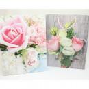 Ajándék táska közepes méretű 23x18x8cm rózsaszínű