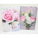 wholesale Handbags: Gift bag small 16x11.5x6cm rose design