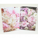 Gift bag small 16x11.5x6cm bouquet of roses