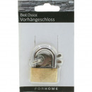 wholesale Ironmongery: Lock 2,5x1,5cm made of brass on card