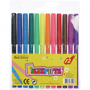 Felt pens 12pcs in blister pack for the school 13c