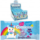 Wet wipes 15 unicorn edition blue