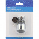 Water tap plug-in adjustable pearl- or shower st