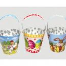 Großhandel Geschenkartikel & Papeterie: Papp-Topf XL 10cm DM, 20cm inklusive Henkel