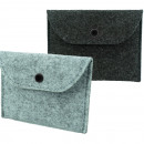 Pocket card case felt 12.5x9.5cm 2- times assorted