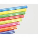 Wrapping paper 2m x 70cm, plain colors sort