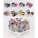 Hair ties 10, 8- times assorted