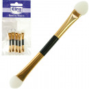 wholesale Make-up Accessoires: Applicators 5pcs gold 5,5cm in polybag